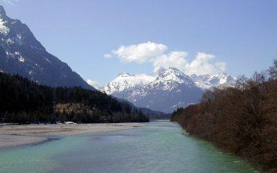 The Lech river
