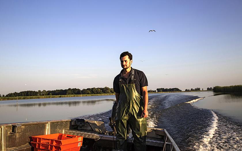 The Lake Constance Fisherman Franz Blum
