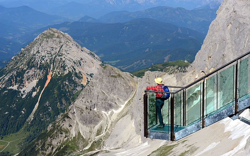 The Dachstein Skywalk in Styria