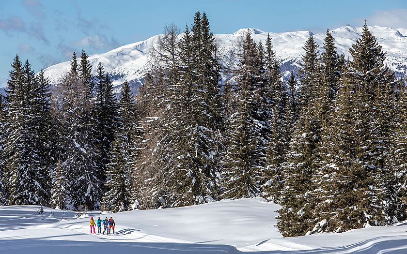 Winter walking in Austria's East Tyrol