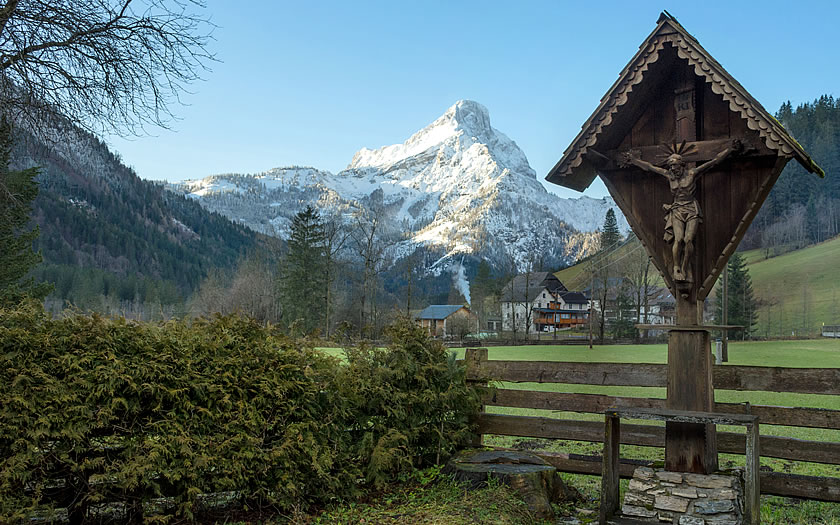 Johnsbach, the 'mountaineers' village' in the Gesause mountains