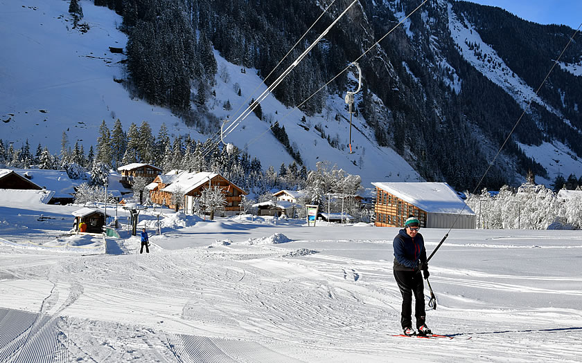 The ski lift at Ginzling