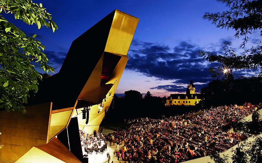 Concerts in the Wolkenturm at Grafenegg Castle in Lower Austria