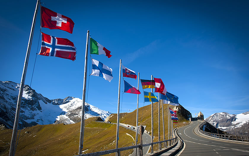 The Großglockner High Alpine Road