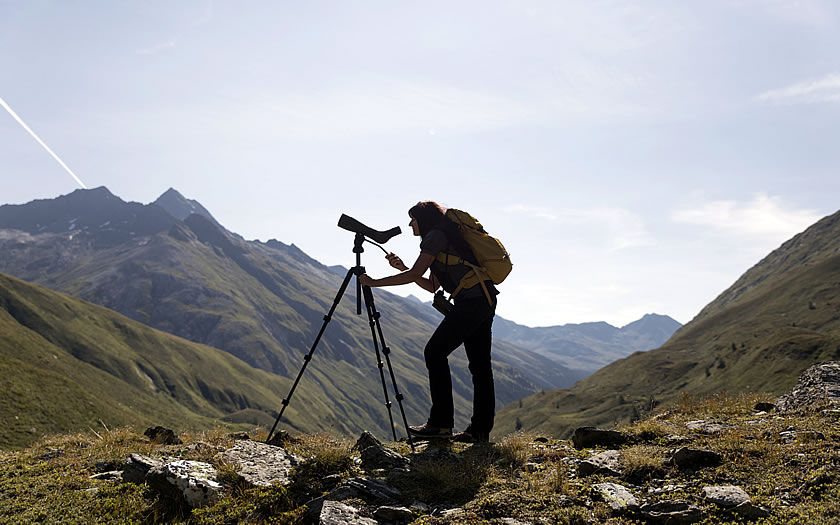 Ranger in the Hohe Tauern National Park