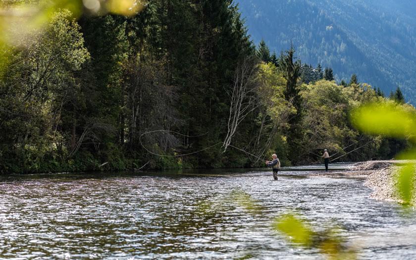 Fly fishing in Austria