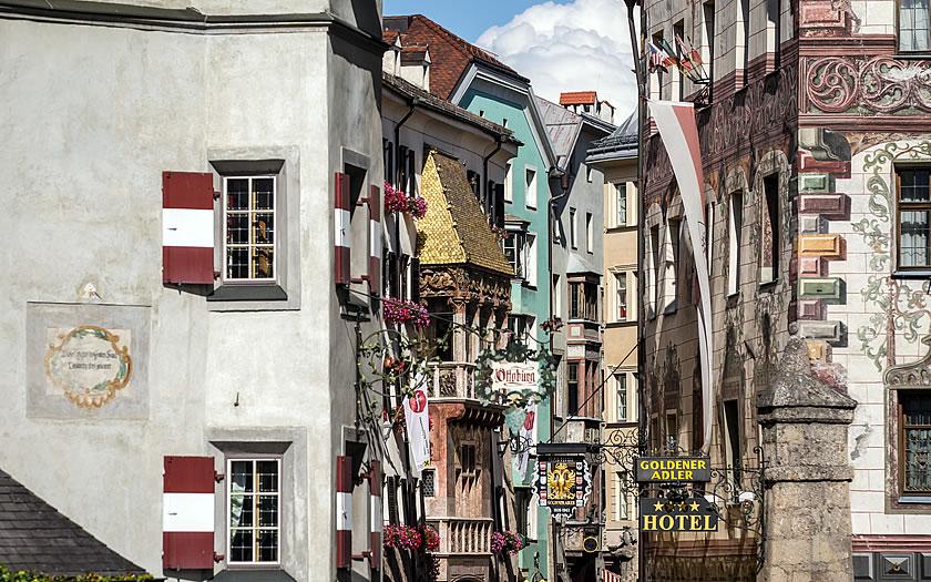 The historic centre of Innsbruck