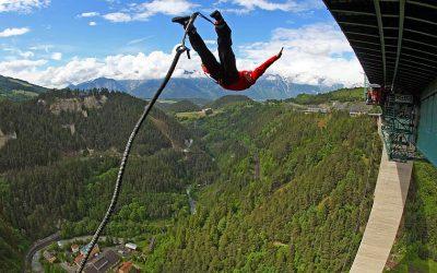 Bungee jumping near Innsbruck