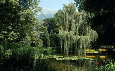 The Imperial Gardens in Innsbruck