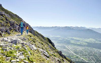 Walking above Innsbruck