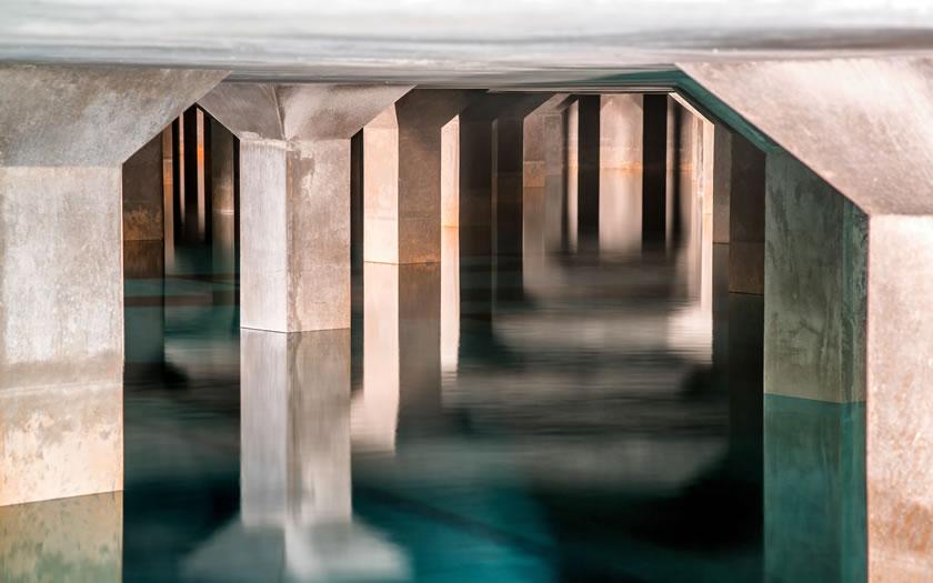 The water storage tunnels in Innsbruck