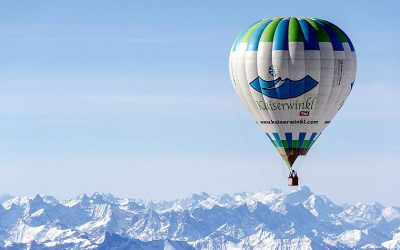 Alpine ballooning in the Kaiserwinkl
