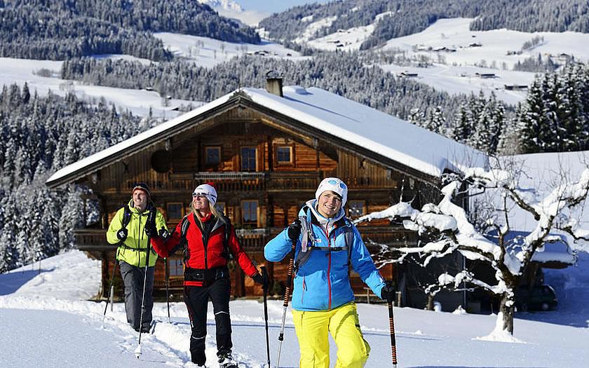 Snowshoe tour in the Kitzbühel Alps