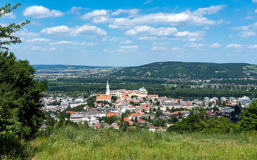 Klosterneuburg Abbey in Lower Austria