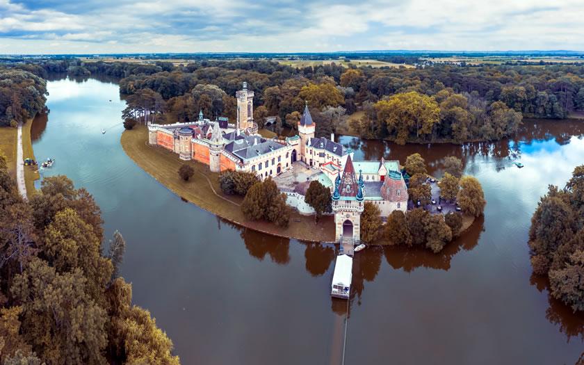 The Franzensburg castle in Laxenburg
