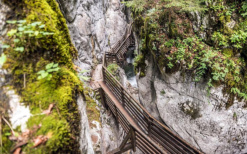 The Seisenberg gorge near Lofer