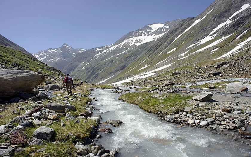 The Iseltrail in East Tyrol