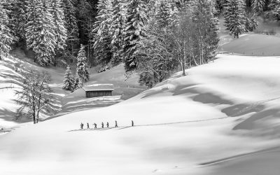 Winter in the Pillersee valley