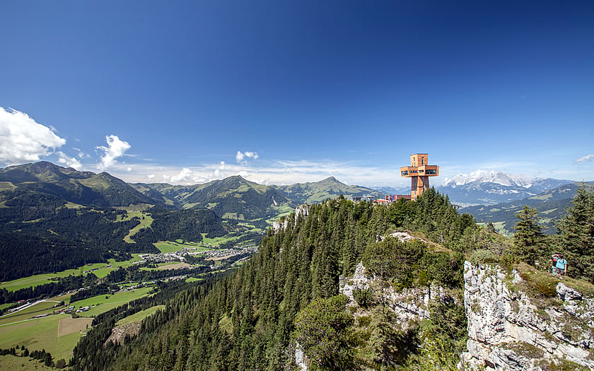 The cross of St James in the Pillersee valley