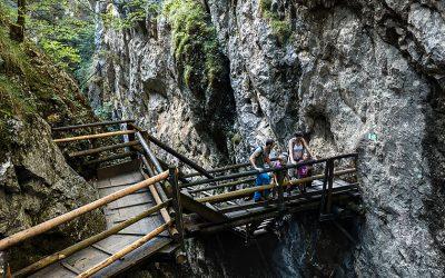 The Dr Vogelsang Gorge in Upper Austria