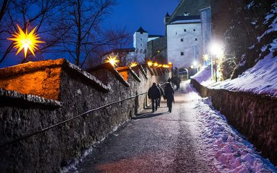 Advent at Hohensalzburg Fortress
