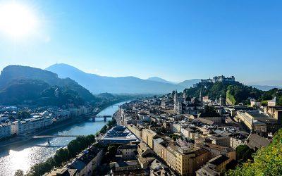 View over Salzburg
