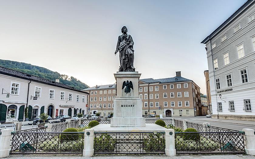 Mozartplatz in Salzburg