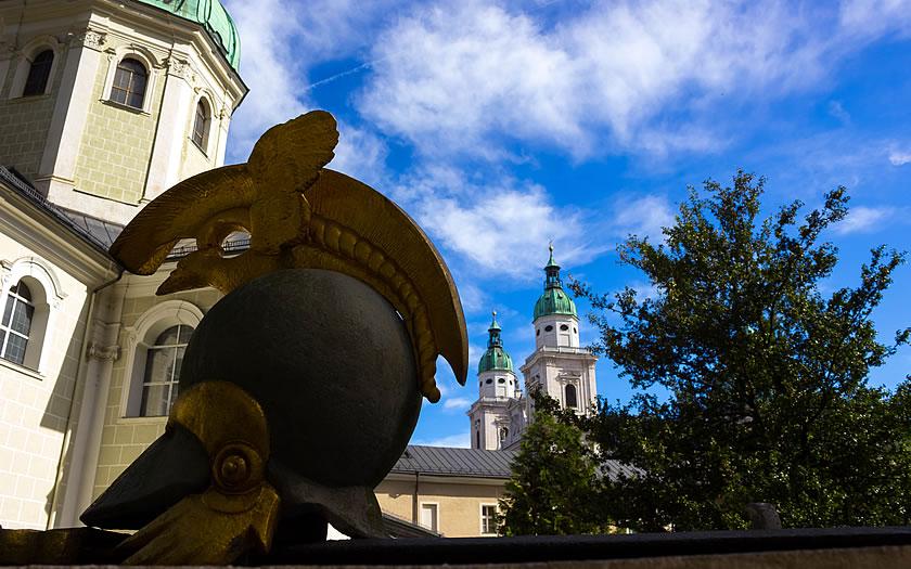 St Peter's cemetery in Salzburg