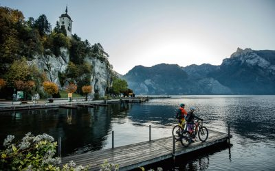 Cycling around the Salzkammergut