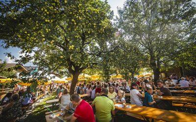 The Krapfen Festival in Schwendau