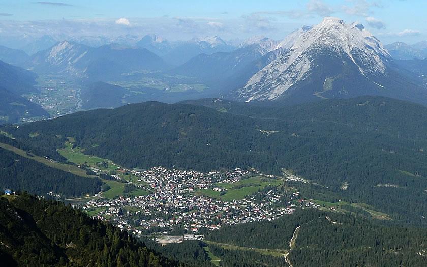 A panorama of the Seefeld plateau