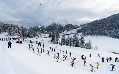 The Kaiser Maximilian crosscountry ski race in Seefeld