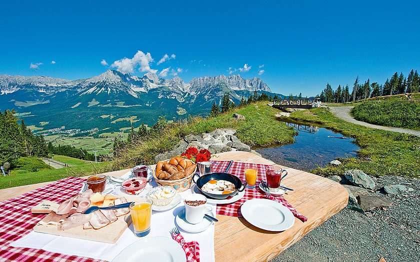 Mountain breakfast