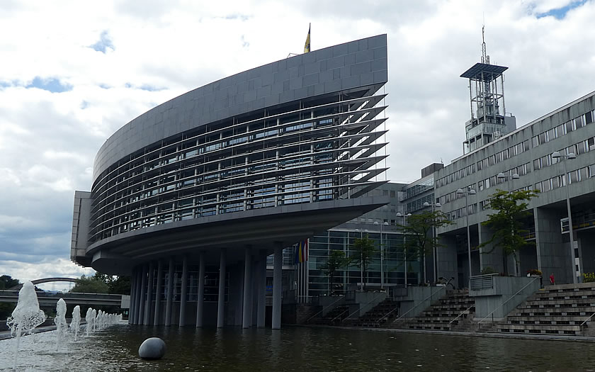 The state government building in Sankt Polten