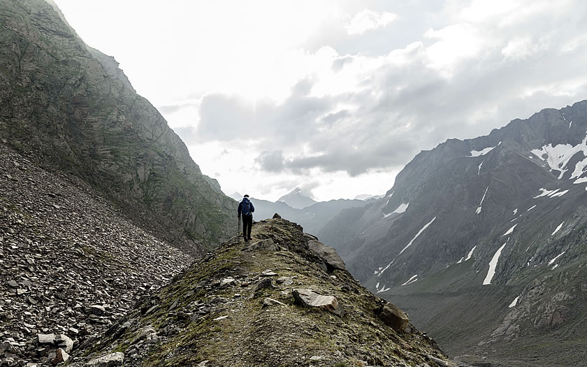 Hiking the Stubai High Route