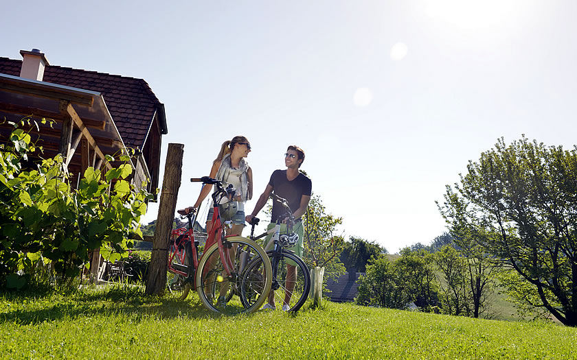 E-biking on the Paradise Route in southern Burgenland