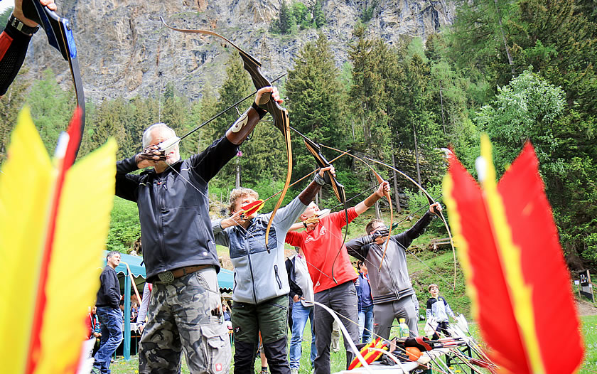 Archery tournament in Pfunds