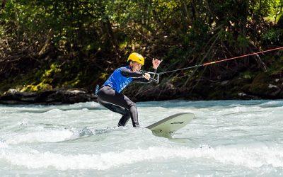Upstream surfing in the Tiroler Oberland