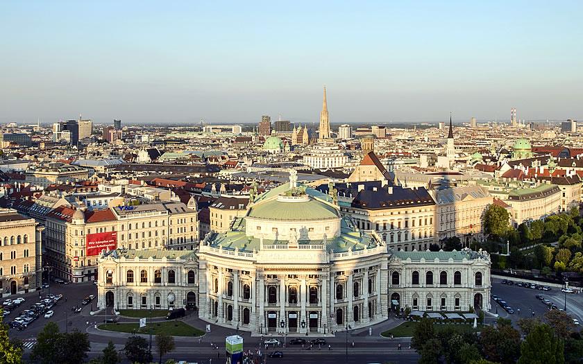 The Burgtheater in Vienna
