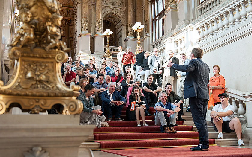 Guided tour in Vienna's Burgtheater