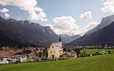 View of Waidring in Tirol