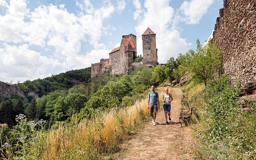 Burg Hardegg in the Waldviertel