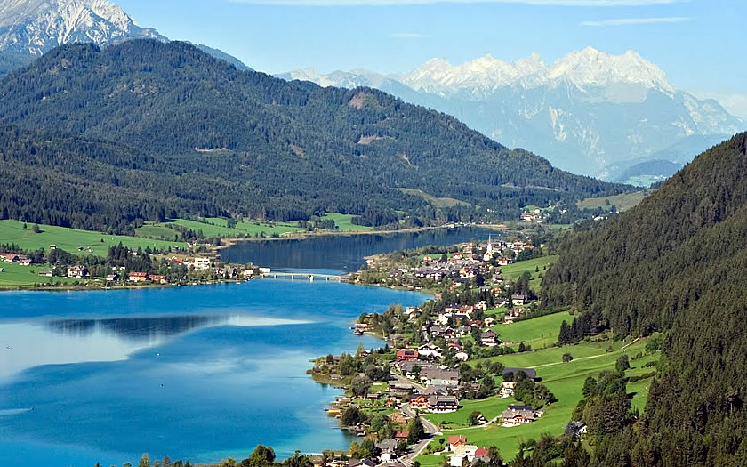 View over the Weissensee
