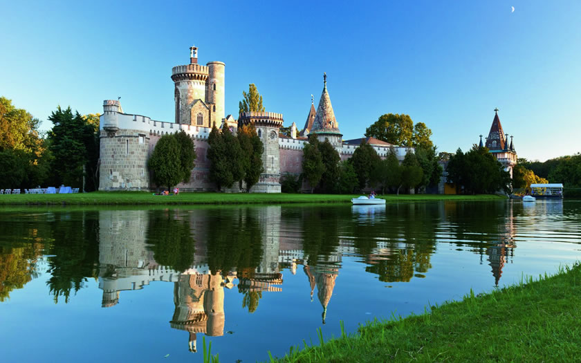 Laxenburg Castle in the Vienna Woods